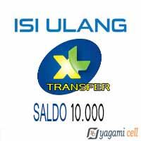 Pulsa Reguler XL Transfer - XL Transfer 10rb